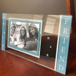 Other - Friend Stand-Up Glass Picture Frame